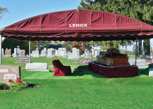 Cemetery Equipment Charges | Lenox Vaults